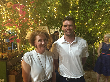 clair and Jimmy Anderson