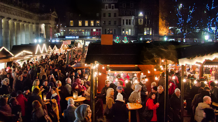 Edinburgh German Market