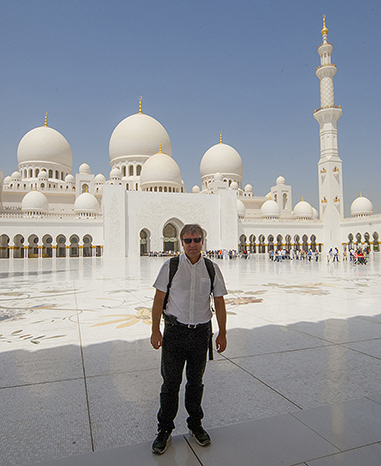Richard Sheikh Zayed Grand Mosque