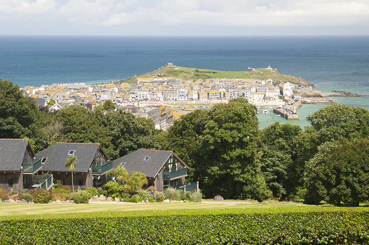 St. ives from Tregenna Castle